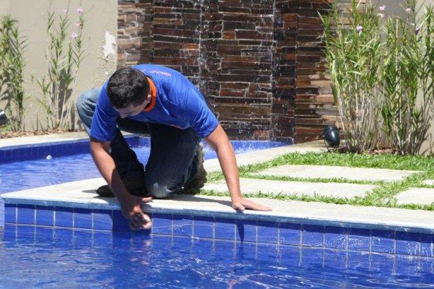 Limpeza e manutenção de piscinas - Limpeza e Manutenção de Piscinas RJ